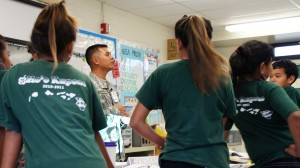 Guards Men with the Counter Drug Program teach Hawaii's youth about the perils of drug use.