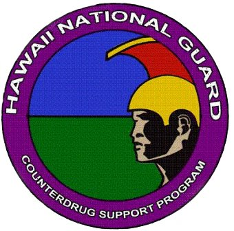 Hawaii National Guard Counterdrug Support Program logo