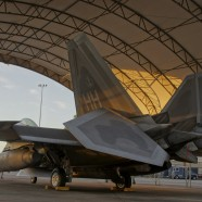 F-22 Raptors Participating in 'Red Flag' Exercise.