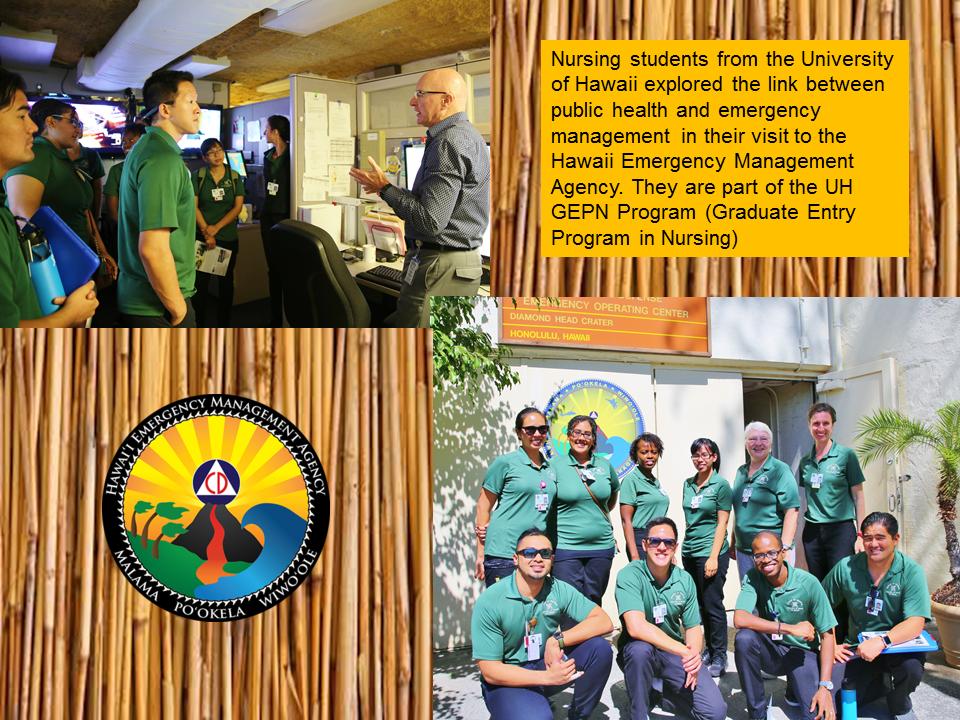 Hawaii Emergency Management Agency | Nursing Students Akamai