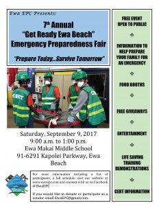 7th Annual Ewa Emergency Preparedness Fair post thumbnail