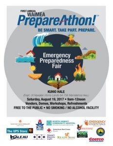 Waimea First Annual Preparedness Fair post thumbnail
