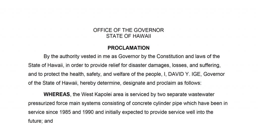 West Beach Emergency Proclamation post thumbnail