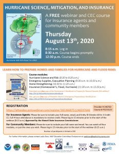Free Course – Hurricane Science, Mitigation, and Insurance post thumbnail
