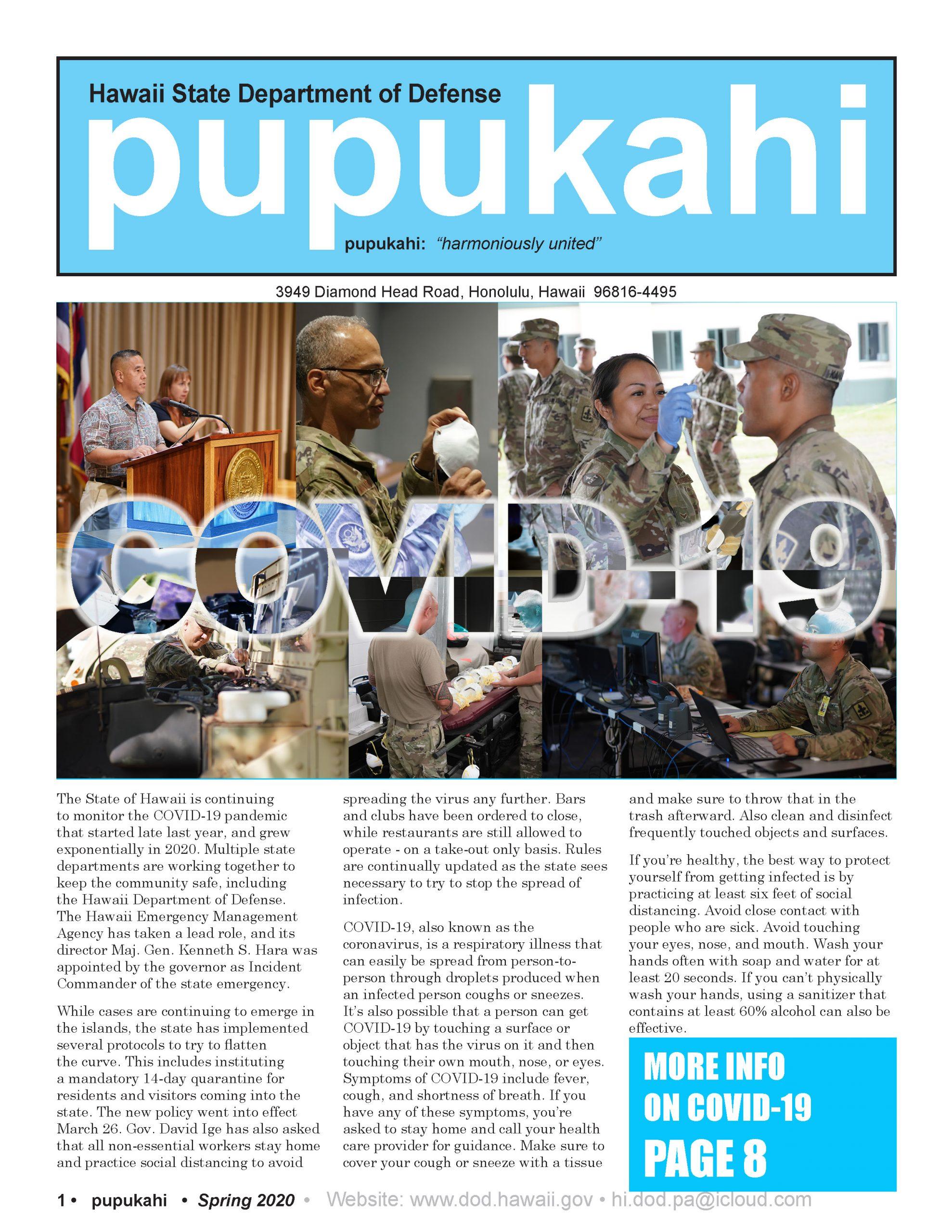 Pupukahi – Spring 2020 post thumbnail