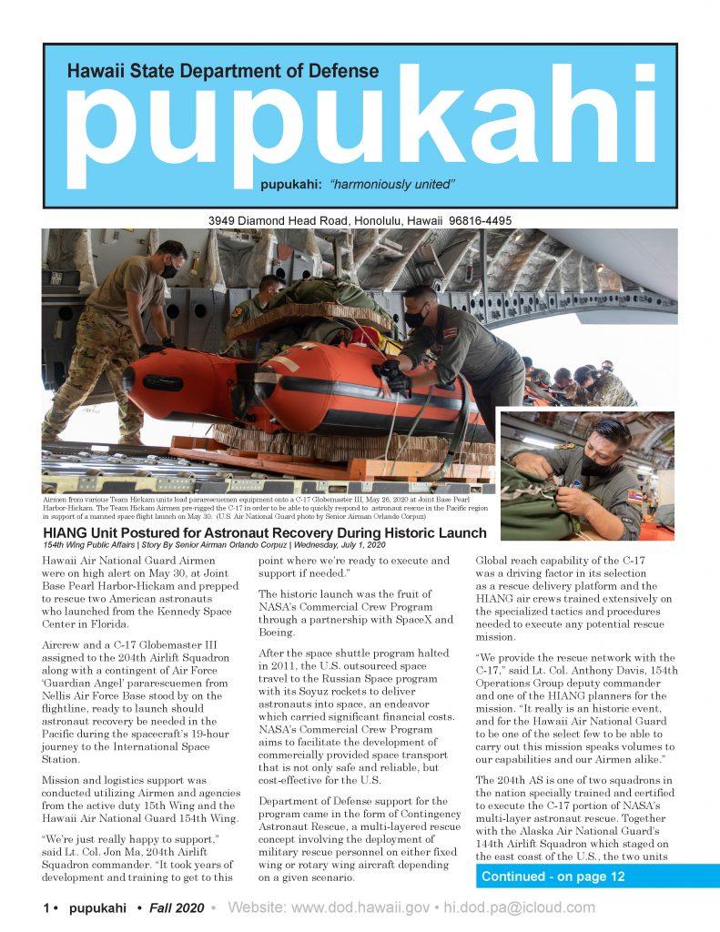 Fall 2020 Pupukahi post thumbnail