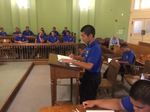 Charlie Class at the State Capitol 132